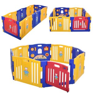 8-Panel Safety Play Center