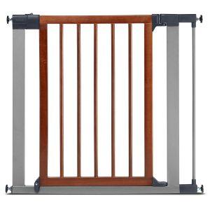 Munchkin Wood & Steel Pressure Mounted Baby Gate