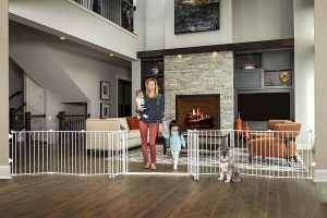 Regalo 192-Inch Double Door Super Baby Gate