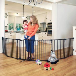 Toddleroo by North States 3 in 1 Arched Décor Metal Superyard